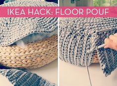 IKEA Hack: Floor Pouf DIY » Curbly   DIY Design Community