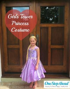 How cute is Sadie in our Tower Princess Dress?  Check out her mama's review on HavingFunSaving.com!