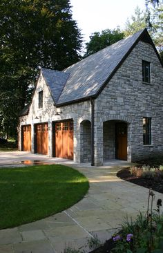 Stone Exterior Design, Pictures, Remodel, Decor and Ideas - page 2