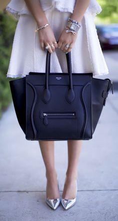 Classic Celine Tote via @erodriguez5. #Celine #bags