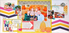 Thankful for Fall Fun ~Gossamer Blue~ - Scrapbook.com