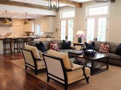 small formal living room decorating ideas | Cozy Living Room Decorating Ideas with brown carpet