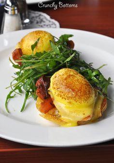 Eggs benedict. A Saturday morning breakfast!