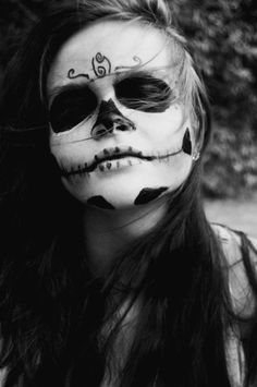 great make-up . . . for Halloween
