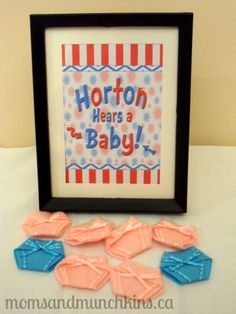 Dr. Seuss Baby Shower Ideas (food, games, decor and more!) #BabyShower