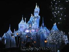 Disneyland at Christmas, Sleeping Beauty's Castle