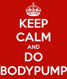 Bodypump--love it!  Can I get this in a tee??