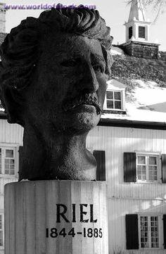 Stock Photo of Riel Sculpture - Winnipeg Manitoba Canada In Winter ...