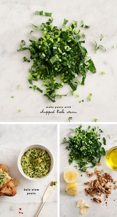 Kale stem pesto - Love and Lemons – ENJI Daily