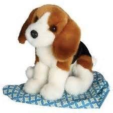 """Balthezar Beagle 12"""" Plush- $15.00"""