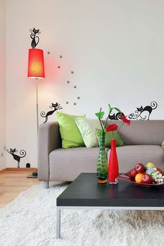 #Cute #Cats Removable Wall #Decal Set