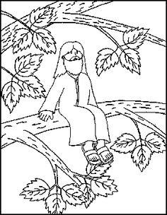 Zacchaeus crafts and activities