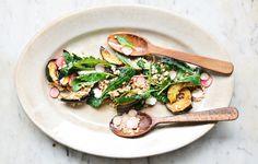 Squash and Farro Salad with Tahini Vinaigrette - Bon Appétit