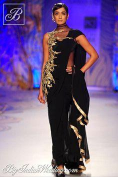 Gaurav Gupta signature stitched sarees 2013