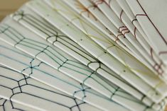 Spectrum of Japanese Stab Bindings by erinzam, via Flickr
