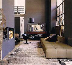 dark living room...
