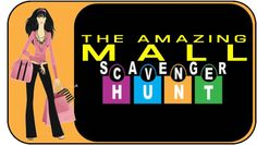 A mall scavenger hunt is an awesome teen birthday party idea!