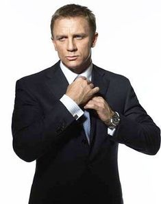 Daniel Craig. Can't wait to see him in The Girl With The Dragon Tattoo