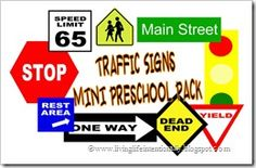 traffic signs free printable