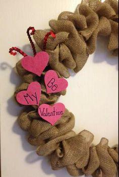 Make a Valentine's Day Wreath!