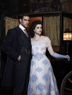 Mina and Jonathan from Dracula