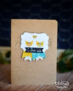 Stampin Up Artisan Blog Hop- CAS | Creations by Mercedes