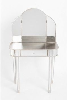 Art Deco Vanity with all Mirrors - @~ Mlle
