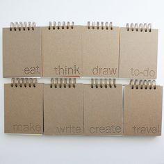verb notebook : eat