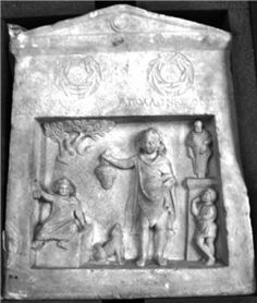 Emotional expressions in ancient funerary art served as therapy for the bereaved