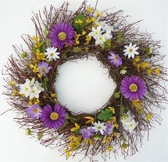 Celtic Garden All Weather Door Wreath