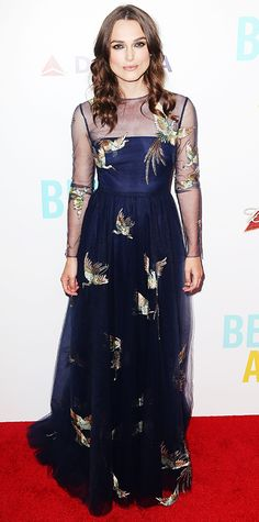 Look of the Day - June 26, 2014 - Keira Knightley in Valentino from #InStyle