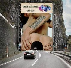Subtle Durex advert