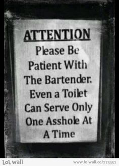 Lol I want this sign!!! For my bar that is.