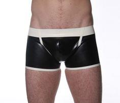Classic Latex Trunks - Regulation London fetish wear, sexi time, latex fashion, men latex, kink closet