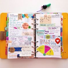 #ShareIG So I have this beautiful #filofax and haven't had the chance to do much with it until now. This was my week. #planner color, weekly planner, washi planner, week planner
