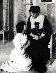 Grand Duchess Tatiana and the Tsarina
