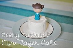 Pamplemousse!: Teeny Tutorial: Mini Layer Cake