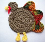 This is an adorable crochet project that anyone would love to own. With Thanksgiving right around the corner, why not create this gobble coaster and use it for home decor