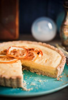 Lemon and Almond Tart