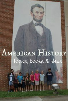 American History (co-op class ideas) from Mercy Is New