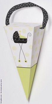 Stroller Fun Favor Cones    Orignal Price :$1.99  Sale :$1.67