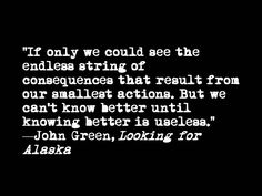 Looking For Alaska - Lessons - Tes Teach