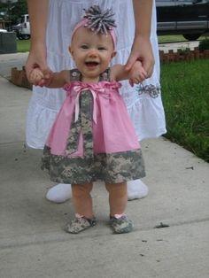 Military baby:)