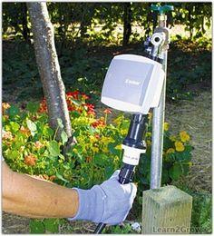 Drip Irrigation Installation - Step 1