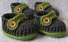 Crochet baby shoes loafers set for twins for by kristine1986, $24.00