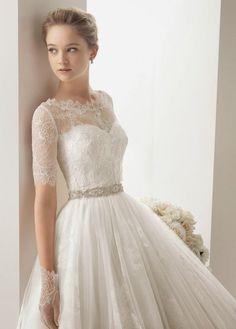 .Cute dress! lace weddings dresses, wedding dressses, lace wedding dresses, dress wedding, the dress, glove, dream wedding, bride, lace dresses