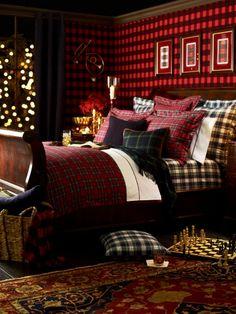 Dress Gordon Throw Blanket - Ralph Lauren Home Bed Collections