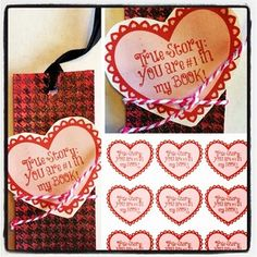You are #1 in my book Valentine's Day printable