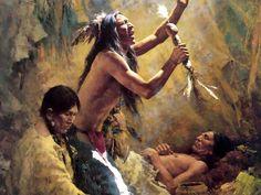 Medicine Man of the Cheyenne by Howard Terpning