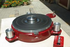 Finished Turntable Base, Speed Control Box and DIY Turntable Weight